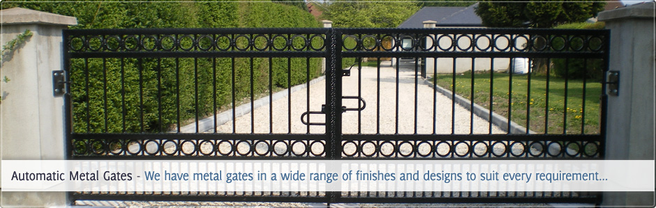 Installed Electric Gates